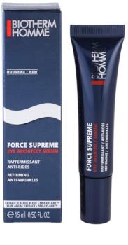 Biotherm Homme Force Supreme spevňujúce očné sérum proti vráskam