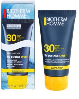 Biotherm Homme UV Defense Sport fluido solar facial SPF30