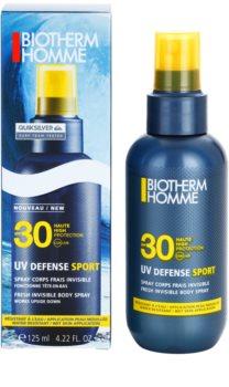 Biotherm Homme UV Defense Sport Bruiningsspray  SPF30
