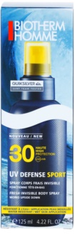 Biotherm Homme UV Defense Sport spray bronzeador SPF30