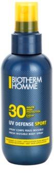 Biotherm Homme UV Defense Sport spray abbronzante SPF 30