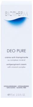 Biotherm Deo Pure krémový antiperspirant