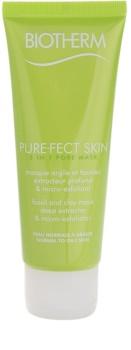 Biotherm PureFect Skin mascarilla limpiadora 2 en 1