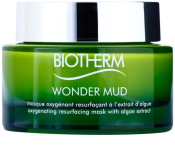 Biotherm Skin Best Wonder Mud erneuernde Schlamm-Maske mit Algenextrakten zur Sauerstoffversorung der Haut