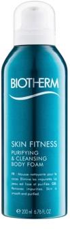 Biotherm Skin Fitness spuma de curatat pentru corp