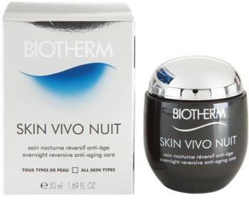 Biotherm Skin Vivo crème de nuit anti-rides pour tous types de peau