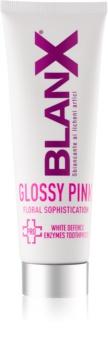 BlanX PRO Glossy Pink відбілююча зубна паста проти жовтого відтінку