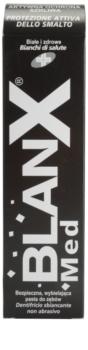 BlanX Med dentífrico branqueador para proteger o esmalte dentário