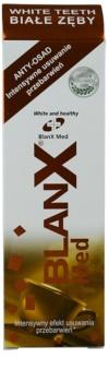 BlanX Med bleichende Zahnpasta gegen Zahnschmelzflecken mit Mikrogranulat
