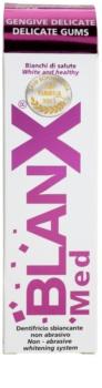 BlanX Med pasta de dientes blanqueadora para encías sensibles