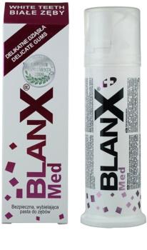 BlanX Med dentífrico branqueador para gengivas sensíveis