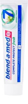 Blend-a-med Complete 7 + Mouthwash Herbal pasta de dentes e elixir 2 em 1 para proteção completa de dentes