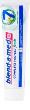 Blend-a-med Complete 7 + Mouthwash Herbal pasta do zębów i plyn do płukania jamy ustnej 2w1 kompletna ochrona zębów