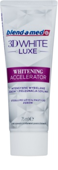 Blend-a-med 3D White Luxe Whitening Accelerator pasta de dientes blanqueadora