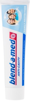 Blend-a-med Anti-Cavity Family Protection dentifrice anti-carie