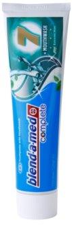 Blend-a-med Complete 7 + Mouthwash Extreme Mint pasta de dentes e elixir 2 em 1 para proteção completa de dentes