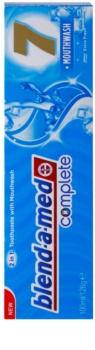 Blend-a-med Complete 7 + Mouthwash Extra Fresh зубна паста та рідина для полоскання ротової порожнини для повноцінного захисту зубів