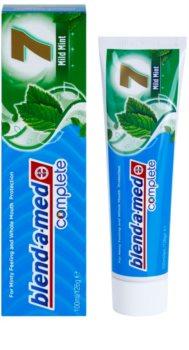 Blend-a-med Complete 7 Mild Fresh pasta de dientes para una protección completa para dientes