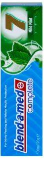 Blend-a-med Complete 7 Mild Fresh dentifrice pour une protection complète des dents