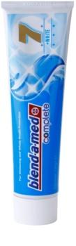 Blend-a-med Complete 7 + White dentifrice pour une protection complète des dents