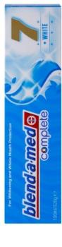 Blend-a-med Complete 7 + White Zahnpasta für den kompletten Schutz Ihrer Zähne