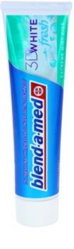 Blend-a-med 3D White Fresh Extreme Mint Kiss bělicí zubní pasta pro svěží dech