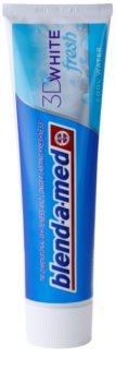 Blend-a-med 3D White Fresh Cool Water dentífrico branqueador para hálito fresco