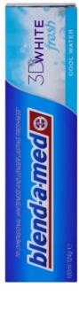 Blend-a-med 3D White Fresh Cool Water відбілююча зубна паста для свіжого подиху