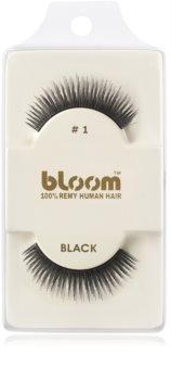 Bloom Natural nalepovacie riasy z prírodných vlasov