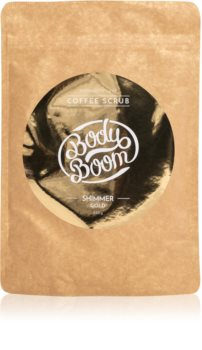 BodyBoom Shimmer Gold piling za tijelo od kave