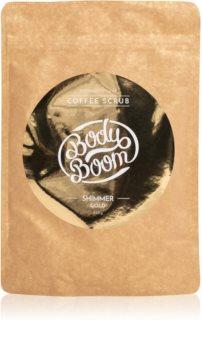 BodyBoom Shimmer Gold απολέπιση σώματος με καφέ