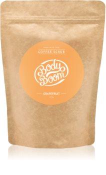 BodyBoom Grapefruit kávový telový peeling