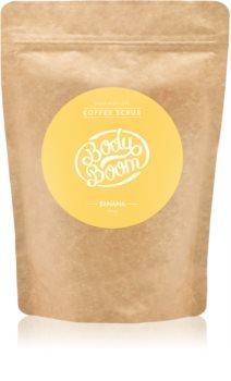 BodyBoom Banana kávový tělový peeling