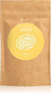 BodyBoom Banana kávový telový peeling