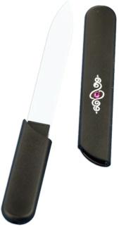 Bohemia Crystal Hard Decorated Nail File lima per unghie