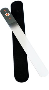 Bohemia Crystal Swarovski Big Nail File with Flower pilica za nohte
