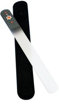 Bohemia Crystal Swarovski Big Nail File with Flower пилочка для нігтів