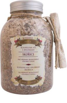 Bohemia Gifts & Cosmetics Bohemia Natur koupelová sůl s bylinkami pro uvolnění vnitřního napětí