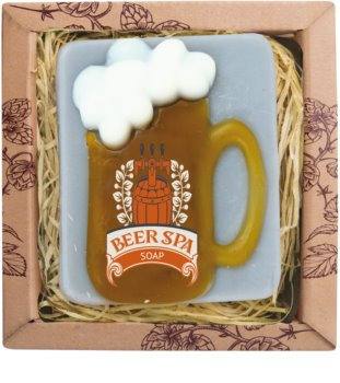 Bohemia Gifts & Cosmetics Beer Spa handgemachte Seife mit Glycerin