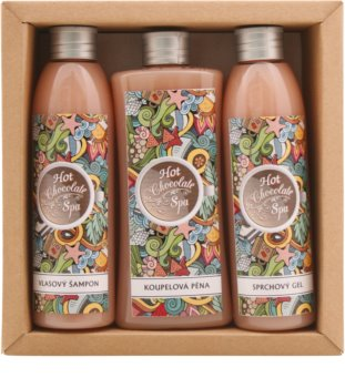 Bohemia Gifts & Cosmetics Hot Chocolate Spa kozmetická sada II.
