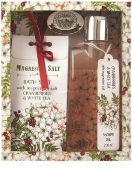 Bohemia Gifts & Cosmetics Magnesium Salt Cranberries & White Tea set cosmetice I.