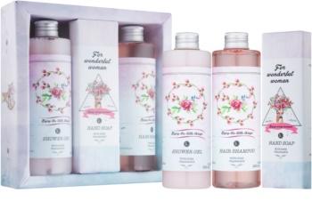 Bohemia Gifts & Cosmetics Rosarium Boho Style zestaw kosmetyków III.