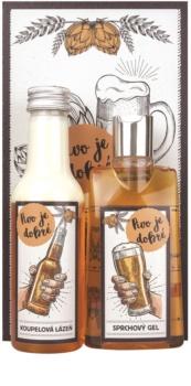 Bohemia Gifts & Cosmetics Beer Spa kozmetická sada II.