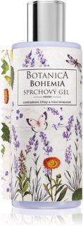 Bohemia Gifts & Cosmetics Botanica gel za tuširanje s mirisom lavande