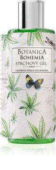 Bohemia Gifts & Cosmetics Botanica gel za tuširanje s uljem kanabisa