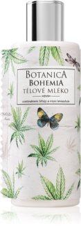 Bohemia Gifts & Cosmetics Botanica mlijeko za tijelo s uljem kanabisa