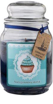 Bohemia Gifts & Cosmetics Birthday Cake illatos gyertya  510 g