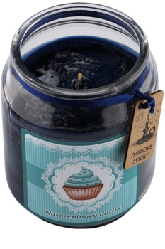 Bohemia Gifts & Cosmetics Birthday Cake vela perfumado 510 g