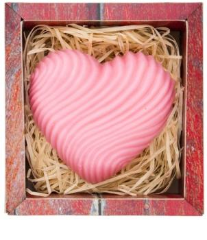 Bohemia Gifts & Cosmetics Heart ručne vyrobené mydlo s glycerínom