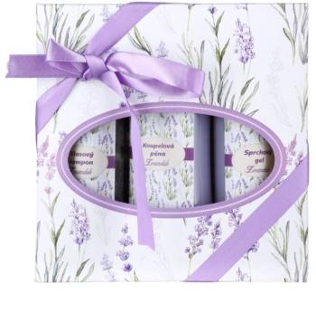 Bohemia Gifts & Cosmetics Lavender kozmetički set V.